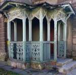 Drewniana weranda przy ul. Mickiewicza - Śrem zdjęcia, galeria zdjęć