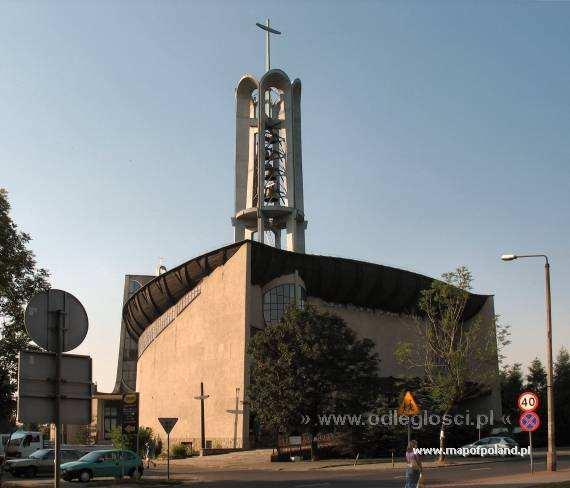 Kościół pw. N.M.P. Matki Kościoła - Zabrze Helenka - Zabrze