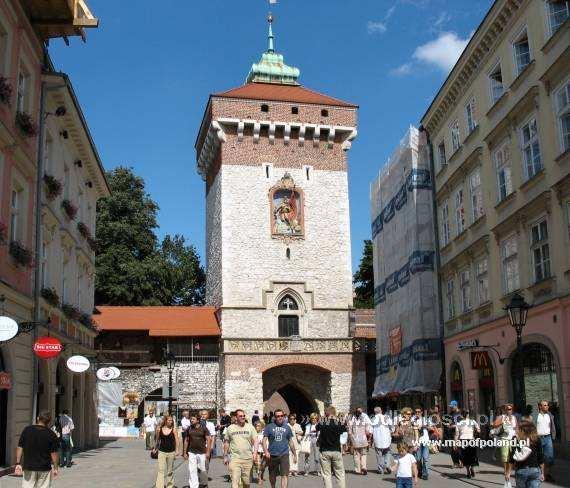 Brama Floriańska - Kraków