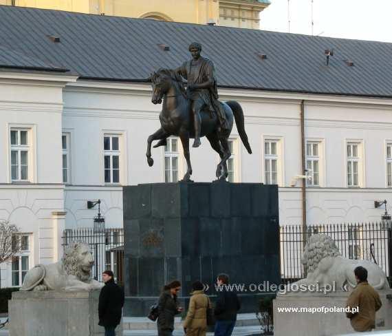 Ksiaze Jozef Poniatowski Pomnik Pomnik Książę Józef