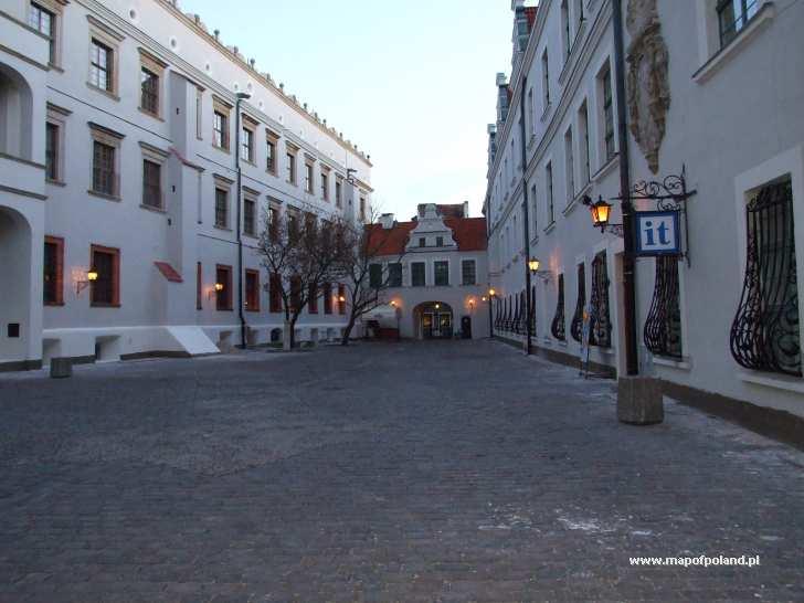 Dziedziniec zamku - Szczecin