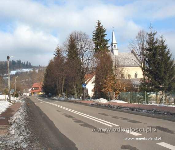 Kościół w Cisnej - Cisna