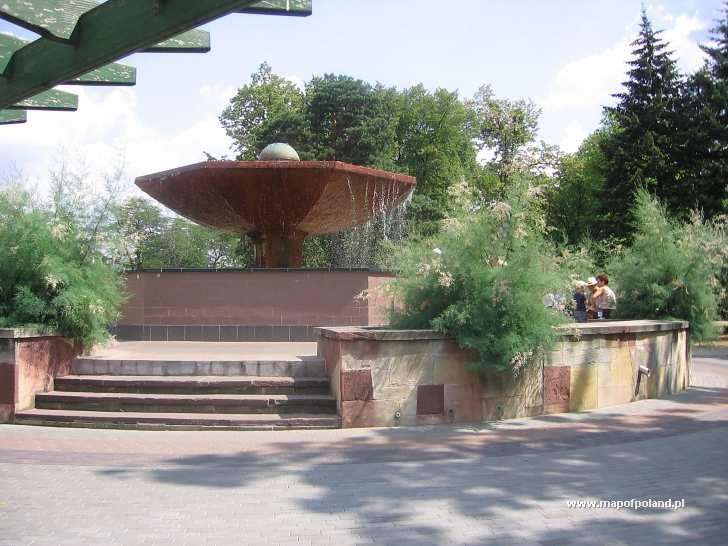 Fontanna - Grzybek - Ciechocinek