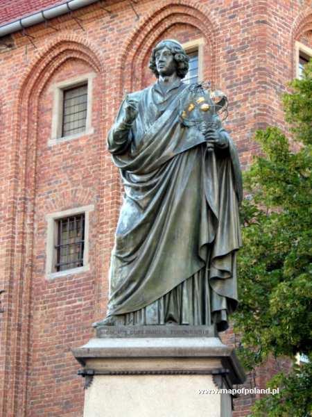 Pomnik Mikołaja Kopernika - Toruń