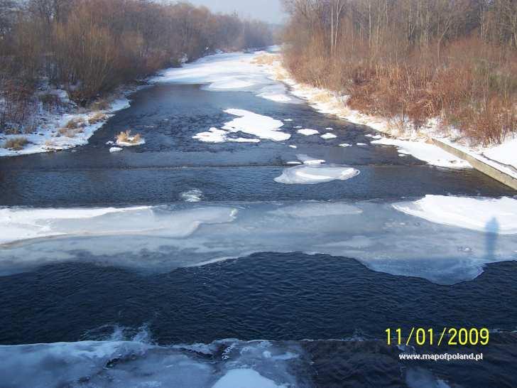 Rzeka Wisła - Ustroń
