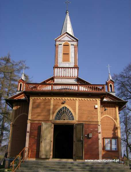 Kościół parafialny - Krzywosądz