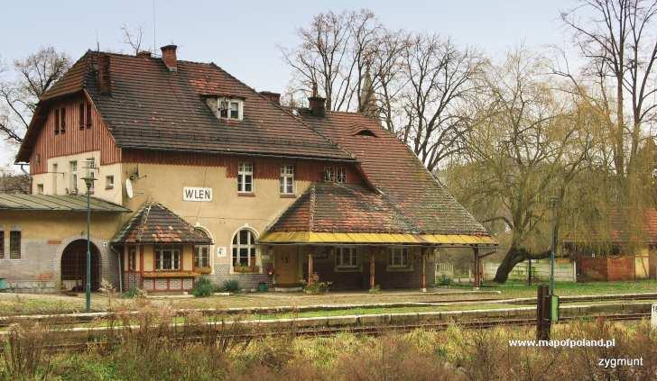 Stacja Kolejowa - Wleń