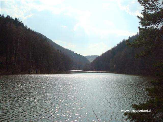 Jezioro Bystrzyckie - Zagórze Śląskie