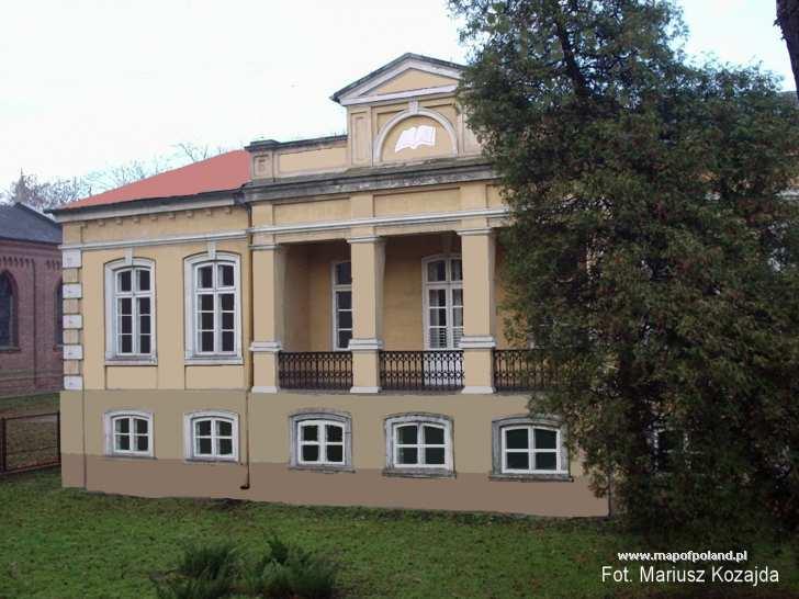 Zabytkowy budynek Biblioteki - Koło