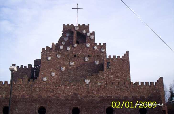 Sanktuarium w Kałkowie, Golgota - Kałków