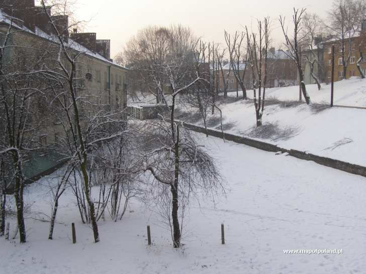 Osiedle Tuwim zimą - Siemianowice Śląskie
