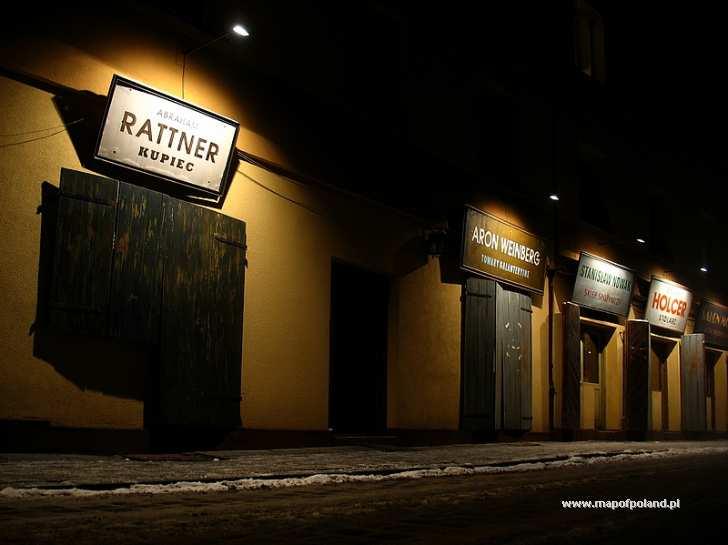 Dzielnica Kazimierz nocą - Kraków