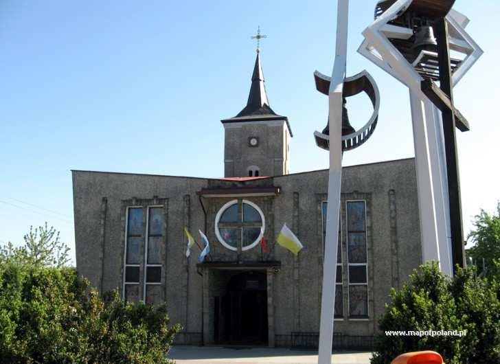 Kościół i Parafia pw. Niepokalanego Serca Maryi w dzielnicy Głożyny - Radlin