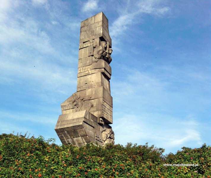 Pomnik Obrońców Wybrzeża na Westerplatte - Gdańsk