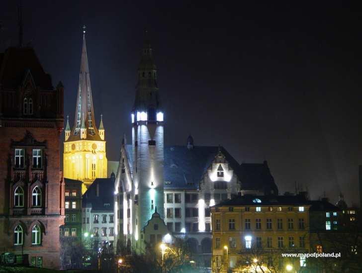 Nocny Szczecin - Szczecin