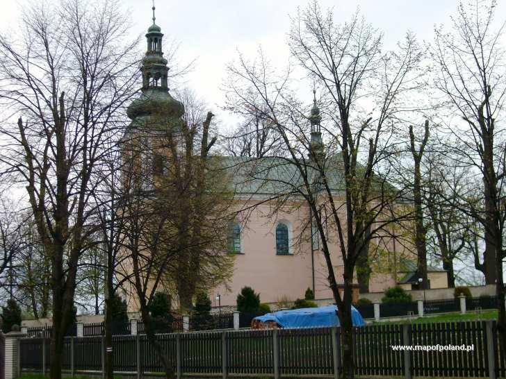 Kościół parafialny p.w. św. Jana Chrzciciela - Olsztyn
