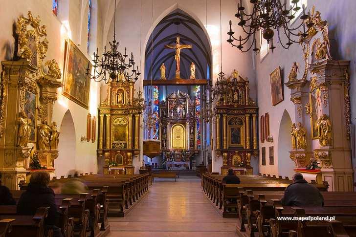 Kościół św. Małgorzaty - wnętrze - Nowy Sącz