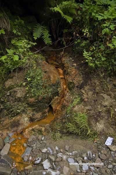 Źródło wód mineralnych - Łomnica-Zdrój