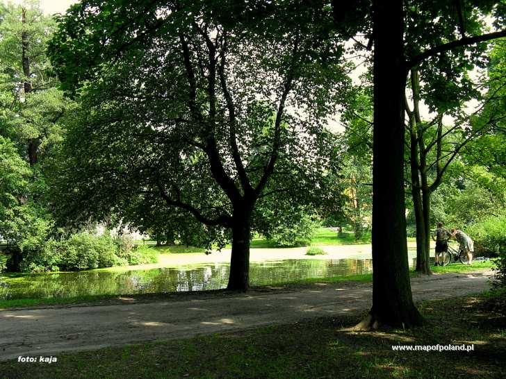 Park przy ul. Nakielskiej - Bydgoszcz