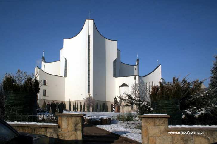 Kościół p.w. Ducha Św. - ul. Krakowska - Dębica