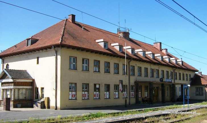 Dworzec kolejowy - Olsztynek
