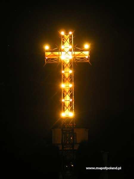 Krzyż na Kaplicówce - Skoczów