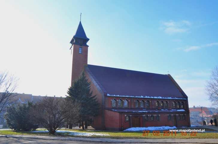 Kościół parafialny p.w. Matki Bożej Nieustającej Pomocy - ul. Asnyka - Wałbrzych