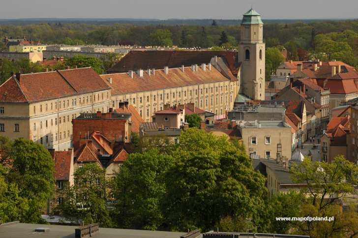 Dawne kolegium i seminarium jezuickie - ul. Gimnazjalna - Żagań