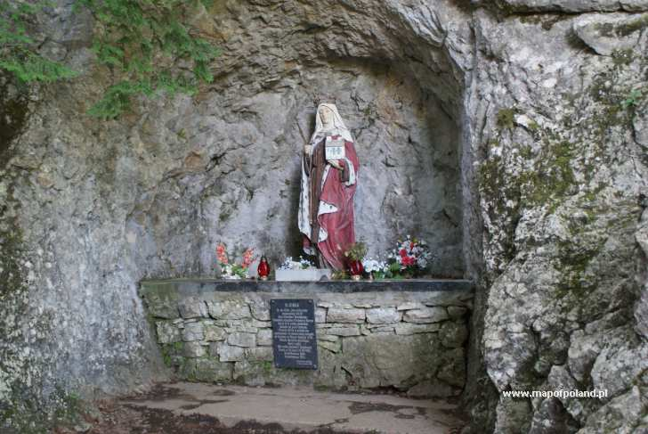 Góra Zamkowa, św. Kinga - Krościenko nad Dunajcem