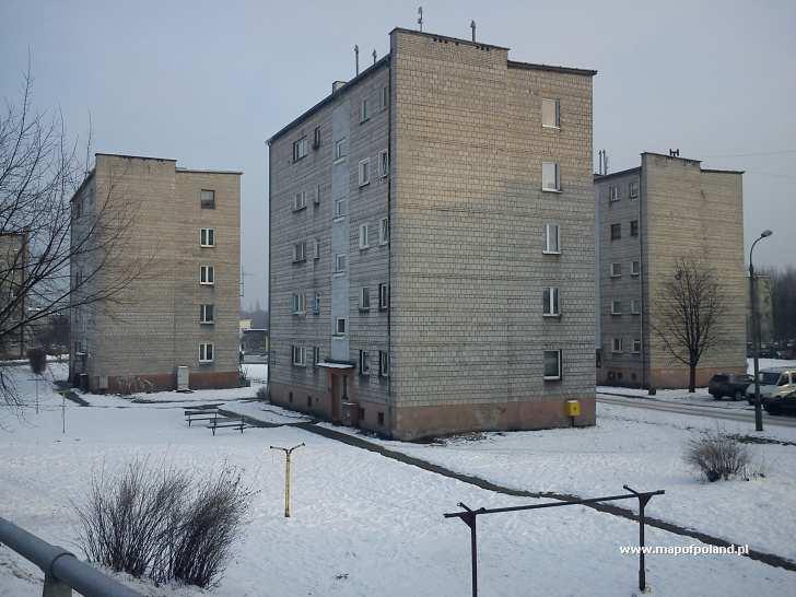 Ulica Biała Przemsza - dzielnica Bór - Sosnowiec