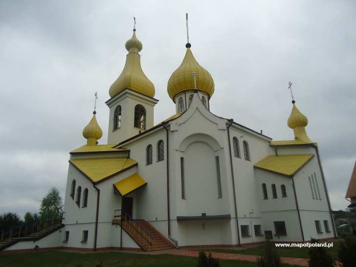 Cerkiew p.w. Św. Niewiast Miro Niosących - Czarna Białostocka