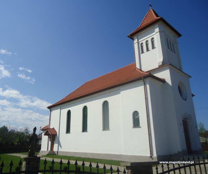 Kościół p.w. Najświętszego Serca Jezusa 1936 r. - Gródek