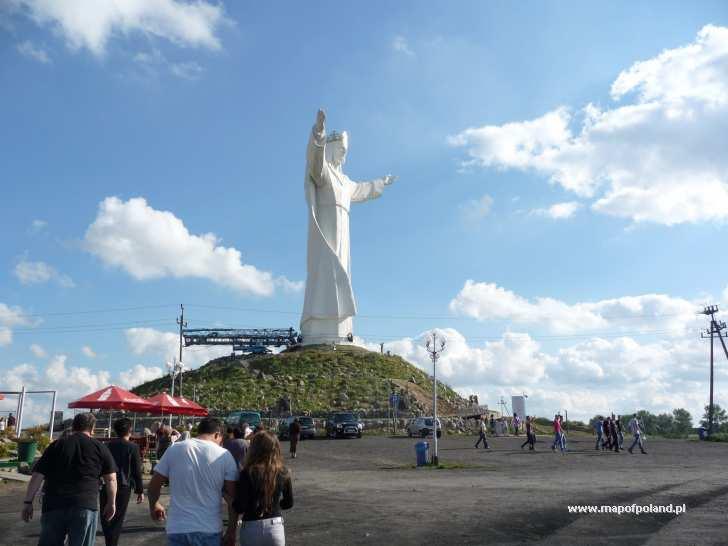 Pomnik Chrystusa Króla Wszechświata - Świebodzin