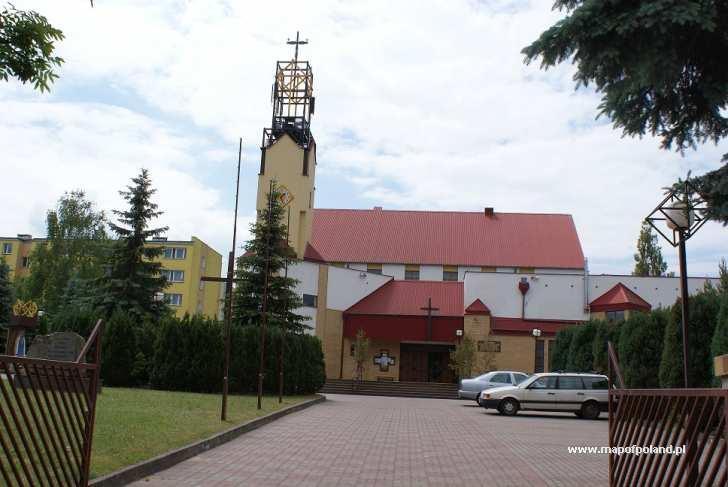 Kościół p.w. św. Józefa Rzemieślnika - ul. Łużycka - Koszalin