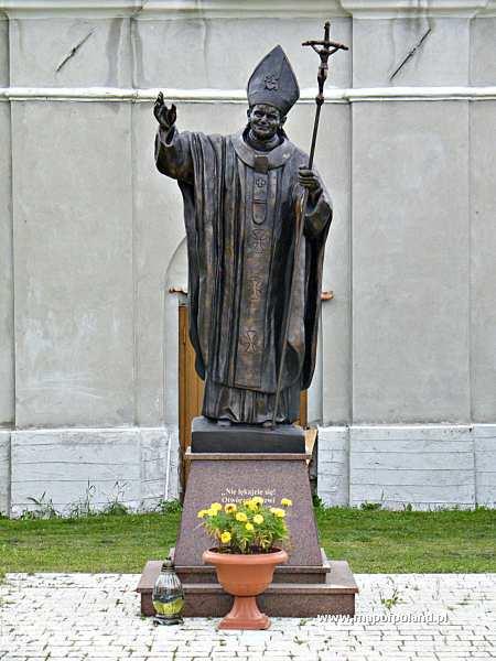 Pomnik Jana Pawła II - Solec nad Wisłą