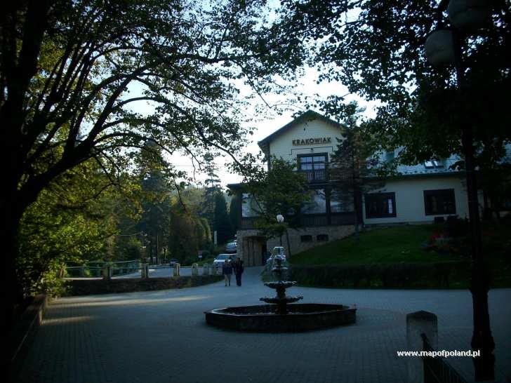 Zabytkowe sanatorium Krakowiak - Iwonicz-Zdrój