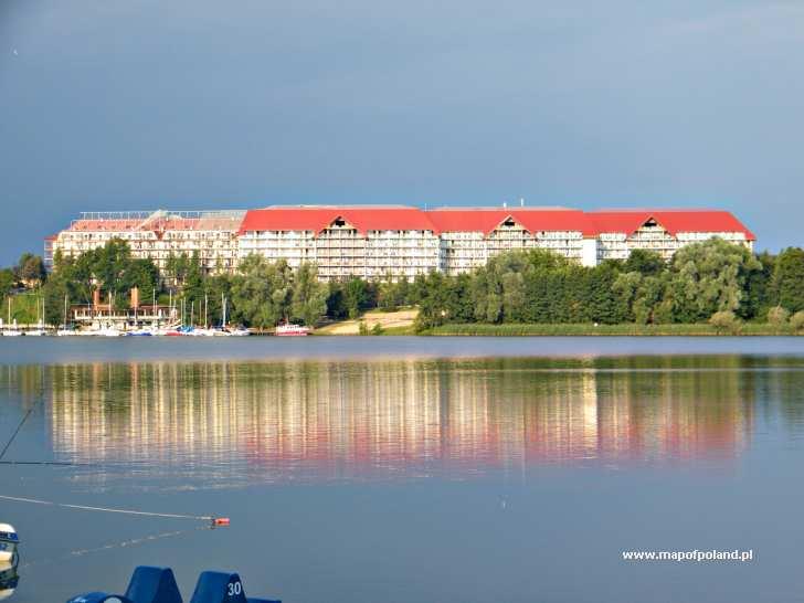 Widok Na Hotel Gołębiewski W Mikołajkach Zdjęcie 97156